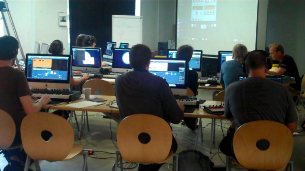 big brain audio Reaktor 5.5 workshop in July 2010