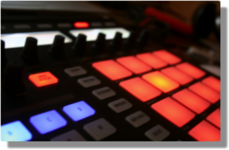 Maschine controller from the side